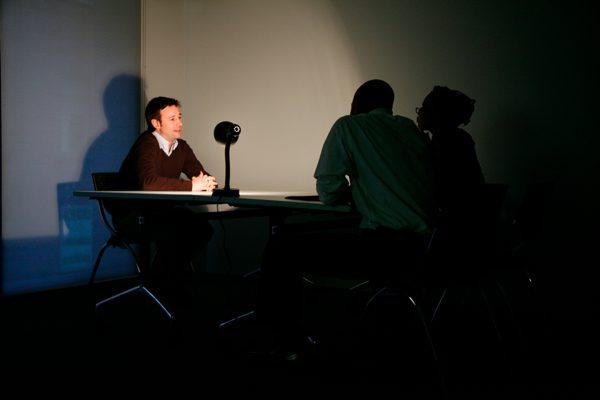 Interrogation room - Possible Damage: In Progress
