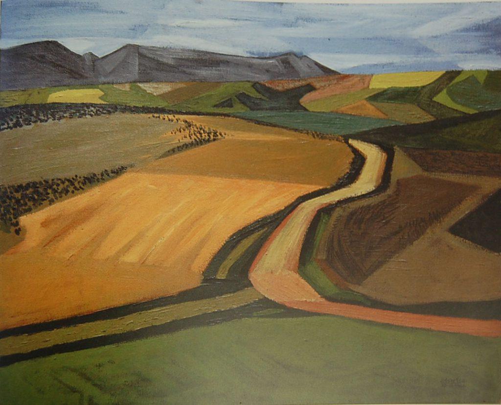 Peter Clarke discusses October Landscape