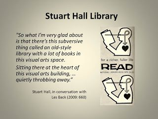 Guest Blog Post: 'Storying the Postcolonial Library' by Alice Corble, Stuart Hall Library Research Network Member