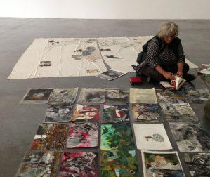 Artist Anna Boghiguian unpacks
