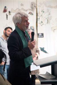 Chris-Dercon, director of tate modern talks at Iniva