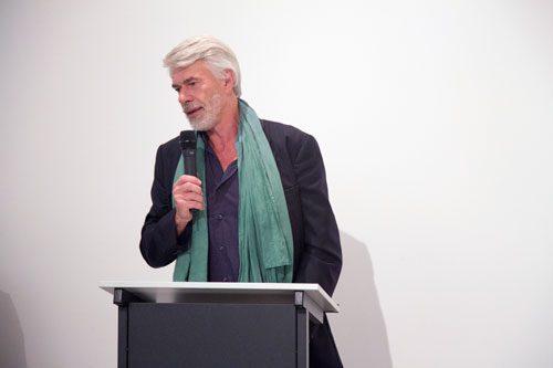 Chris Dercon, director tate modern talks at Iniva