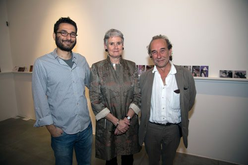 Burak Delier, Tessa Jackson and Peter Randall Page