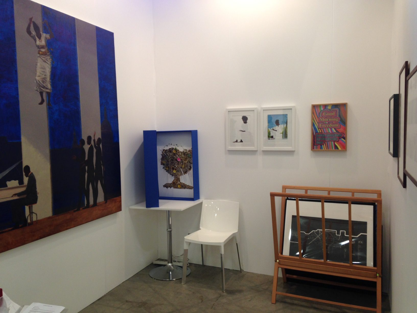 Iniva's stand at art14