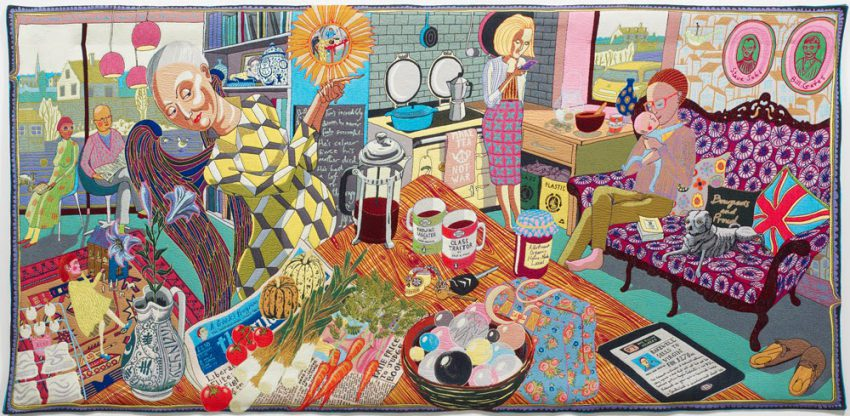 Grayson Perry, the Vanity of Small Differences and the weaving of a community tapestry …