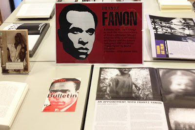 New library displays: Fanon and Black Phoenix